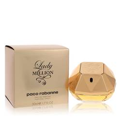 Lady Million Perfume by Paco Rabanne, 50 ml Eau De Parfum Spray for Women