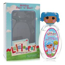 Lalaloopsy Perfume by Marmol & Son, 3.4 oz Eau De Toilette Spray (Mittens Fluff n Stuff) for Women