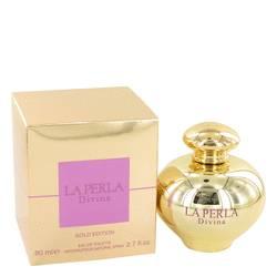 La Perla Divina Gold Perfume by Ungaro, 2.7 oz Eau De Toilette Spray for Women
