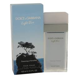 Light Blue Dreaming In Portofino Perfume by Dolce & Gabbana 3.3 oz Eau De Toilette Spray