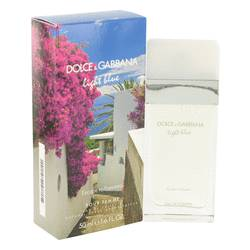 Light Blue Escape To Panarea Perfume by Dolce & Gabbana 1.6 oz Eau De Toilette Spray