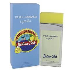 Light Blue Italian Zest Perfume by Dolce & Gabbana, 3.4 oz Eau De Toilette Spray for Women