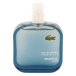 Lacoste Eau De Lacoste L.12.12 Bleu Cologne by Lacoste 3.3 oz Eau De Toilette Spray (Tester) Powerful Intense