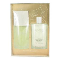 L'eau D'issey (issey Miyake) Cologne by Issey Miyake -- Gift Set - 4.2 oz Eau De Toilette Spray + 3.4 oz After Shave Balm