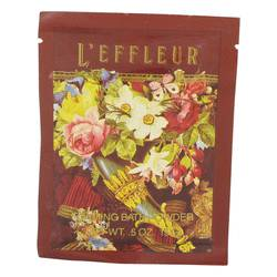 L'effleur Perfume by Coty 0.5 oz Foaming Bath Powder