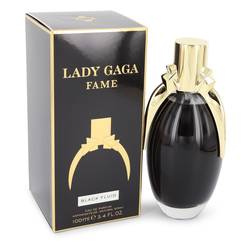Lady Gaga Fame Black Fluid Perfume by Lady Gaga, 3.4 oz Eau De Parfum Spray for Women