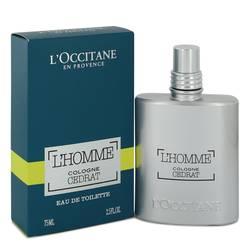 L'homme Cologne Cedrat Cologne by L'occitane, 2.5 oz Eau De Toilette Spray for Men