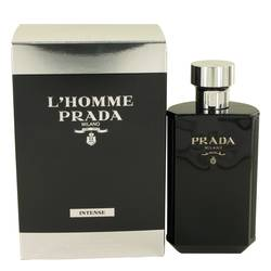 L'homme Intense Prada Cologne by Prada, 3.4 oz Eau De Parfum Spray for Men