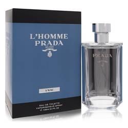 L'homme Prada L'eau Cologne by Prada, 3.4 oz Eau De Toilette Spray for Men