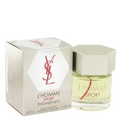 L'homme Sport Cologne by Yves Saint Laurent, 60 ml Eau De Toilette Spray for Men