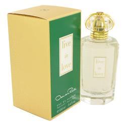 Live In Love Perfume by Oscar De La Renta, 3.4 oz Eau De Parfum Spray for Women