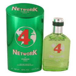 Lomani Network 4 Green Cologne by Lomani, 100 ml Eau De Toilette Spray for Men from FragranceX.com