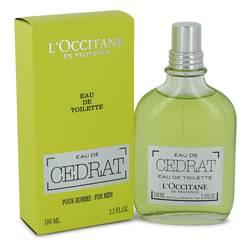 L'occitane Eau De Cedrat Cologne by L'occitane, 3.3 oz Eau De Toilette Spray for Men
