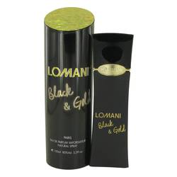 Lomani Black & Gold Perfume by Lomani, 3.4 oz Eau De Parfum Spray for Women