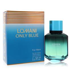 Lomani Only Blue Cologne by Lomani, 100 ml Eau De Toilette Spray for Men