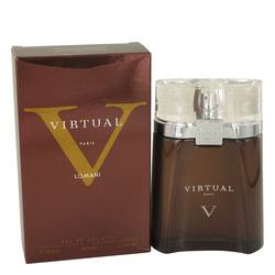 Lomani Virtual Cologne by Lomani, 100 ml Eau De Toilette Spray for Men from FragranceX.com