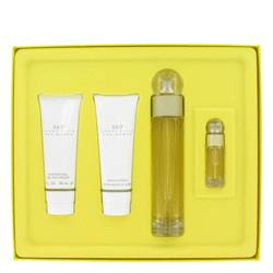 Perry Ellis 360 Gift Set by Perry Ellis Gift Set for Women Includes 3.4 oz Eau De Toilette Spray + 3 oz Shower Gel + 3 oz Body Lotion + .25 oz Mini EDT Spray from FragranceX.com
