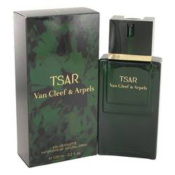 Tsar Cologne by Van Cleef & Arpels 3.4 oz Eau De Toilette Spray