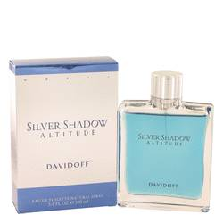 Silver Shadow Altitude Cologne by Davidoff, 3.4 oz Eau De Toilette Spray for Men