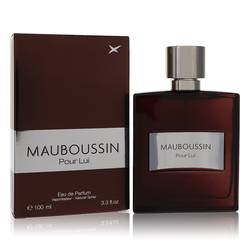 Mauboussin Pour Lui Cologne by Mauboussin, 3.3 oz Eau De Parfum Spray for Men