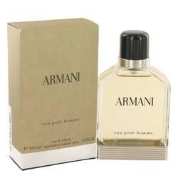 Armani Cologne by Giorgio Armani 3.4 oz Eau De Toilette Spray