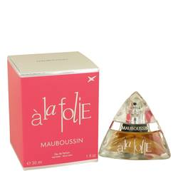 Mauboussin A La Folie Perfume by Mauboussin, 1 oz Eau De Parfum Spray for Women
