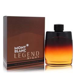 Montblanc Legend Night Cologne by Mont Blanc, 3.3 oz Eau De Parfum Spray for Men