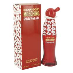 Cheap & Chic Petals Perfume by Moschino, 50 ml Eau De Toilette Spray for Women from FragranceX.com