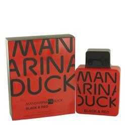 Mandarina Duck Black & Red Cologne by Mandarina Duck, 3.4 oz Eau De Toilette Spray for Men