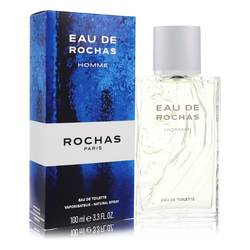 Eau De Rochas Cologne by Rochas 3.4 oz Eau De Toilette Spray