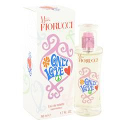 Miss Fiorucci Only Love Perfume by Fiorucci, 50 ml Eau De Toilette Spray for Women