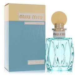 Miu Miu L'eau Bleue Perfume by Miu Miu, 3.4 oz Eau De Parfum Spray for Women