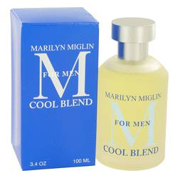 Marilyn Miglin Cool Blend Cologne by Marilyn Miglin, 3.4 oz Cologne Spray for Men