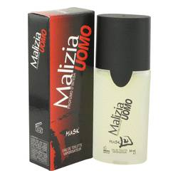 Malizia Uomo Musk Cologne by Vetyver, 50 ml Eau De Toilette Spray for Men