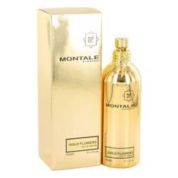 Montale Gold Flowers Perfume by Montale, 100 ml Eau De Parfum Spray for Women from FragranceX.com