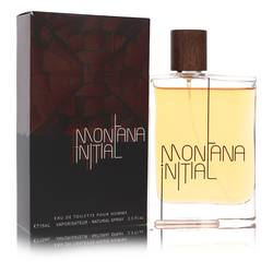 Montana Initial Cologne by Montana, 2.5 oz Eau De Toilette Spray for Men