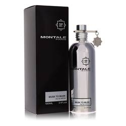 Montale Musk To Musk Perfume by Montale, 3.4 oz Eau De Parfum Spray (Unisex) for Women