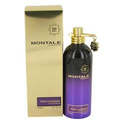 Montale Aoud Lavender Perfume by Montale, 3.4 oz Eau De Parfum Spray (Unisex) for Women