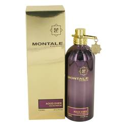 Montale Aoud Ever Perfume by Montale, 3.4 oz Eau De Parfum Spray (Unisex) for Women