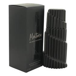 Montana Black Edition Cologne by Montana, 125 ml Eau De Toilette Spray for Men