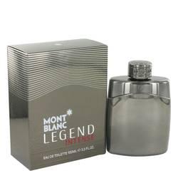 Montblanc Legend Intense Cologne by Mont Blanc, 3.4 oz Eau De Toilette Spray for Men