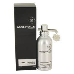 Montale Vanille Absolu Perfume by Montale, 50 ml Eau De Parfum Spray (Unisex) for Women