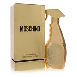 Moschino Fresh Gold Couture Perfume by Moschino, 100 ml Eau De Parfum Spray for Women