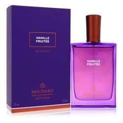 Molinard Vanille Fruitee Perfume by Molinard, 75 ml Eau De Parfum Spray (Unisex) for Women