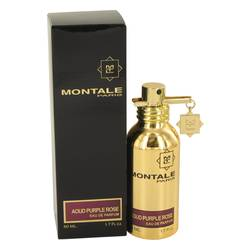 Montale Aoud Purple Rose Perfume by Montale, 50 ml Eau De Parfum Spray (Unisex) for Women