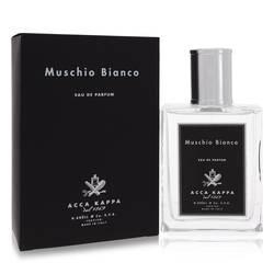 Muschio Bianco (white Musk/moss) Perfume by Acca Kappa, 100 ml Eau De Parfum Spray (Unisex) for Women