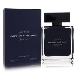 Narciso Rodriguez Bleu Noir Cologne by Narciso Rodriguez, 100 ml Eau De Toilette Spray for Men