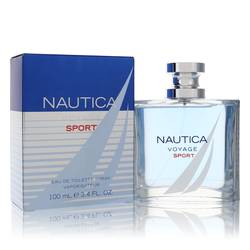Nautica Voyage Sport Cologne by Nautica, 100 ml Eau De Toilette Spray for Men