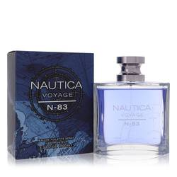Nautica Voyage N-83 Cologne by Nautica, 3.4 oz Eau De Toilette Spray for Men