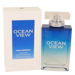 Ocean View Cologne by Karl Lagerfeld, 100 ml Eau De Toilette Spray for Men